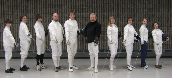 Picture from European fencing